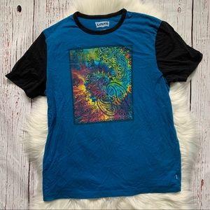 Levi's Tie Dye Graphic Short Sleeve T Shirt XL